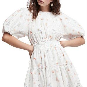 Aje Armeria Bell Sleeve Floral Dress AU 6 / US 0-2